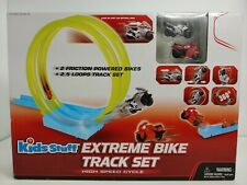 Kids Stuff Extreme Bike Track Set High Speed Cycle Excite 2 Bikes 2 Tracks New