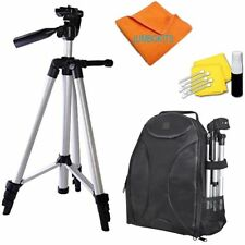 "50"" PRO PHOTO TRIPOD + BACKPACK CARRYING CASE FOR NIKON D5000 D5100 D5200"