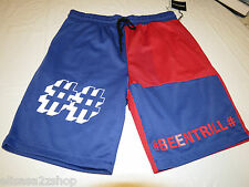 BEEN TRILL # BEENTRILL active shorts blue red gym L large lrg Men's RARE NEW