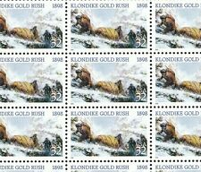 3235   GOLD MINERS  M NH FULL SHEET OF 20   SPECIAL SALE @ FACE