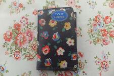 Cath Kidston Genuine ladies Small Ticket Holder Wallet Ditsy BNWT Charcoal