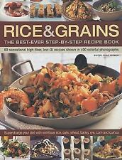 Rice & Grains: The Best-Ever Step-By-Step Recipe Book-ExLibrary