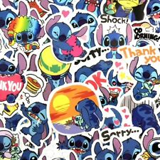 50 Disney Lilo & Stitch Cartoon Stickers - Books Skateboard Laptop Phone Tablets