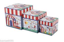 Cajas de almacenaje sin marca color principal multicolor para el hogar