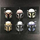 """Star Wars Mandalorian Helmets Poster 10.5""""x15.5"""" Mando Boba Fett"""