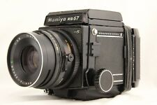 Vinilo EXC+ 5 】Mamiya RB67 Pro S W / Sekor C / 90mm F/3.8 Lente + 120 Filmback