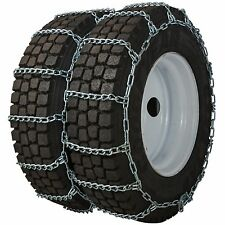 Quality Chain 4247 Dual/Triple 7mm Link Non-Cam Tire Chains Traction Snow Truck