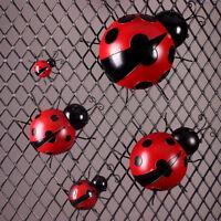 Ladybug Ornament Terrarium Miniature Craft Bonsai Fairy Garden Red-9cm
