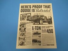 1935 Here's Proof that Dodge is Built to Take It, 1.5 Ton Trucks $490, PA003