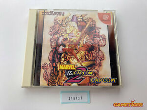 MARVEL VS CAPCOM 2 DC Sega Dreamcast JAPAN Ref:316139