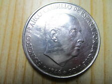 MONEDA DE 100 PESETAS DE 1966  PLATA  19* 66*
