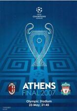 5x Liverpool FC Cup Final Programmes. Champions League, European Cup etc.