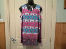 "AUTOGRAPH PAISLEY ROSE ""PRINT"" SLEEVELESS TOP SZ 18-NEW AUTOGRAPH--RRP$59.99"