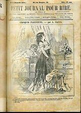 PETIT JOURNAL POUR RIRE. Nlle SERIE. RECUEIL AVEC CENSURE. GREVIN. XIXème