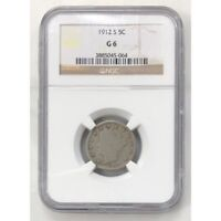 1912 S Liberty Nickel NGC G6 #5064134