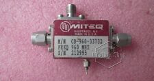 MITEQ CD-960-33732 960MHz 20dB SMA RF bi-directional coupler with detector