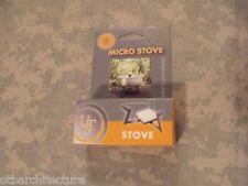 MIL-COM Portable Cuisinière /& d/'hexamine Comprimés Mini Réchaud de camping armée Hexi Combustible
