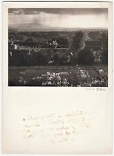 RARE Southwest Photographer  Laura Gilpin Signed Photo - Santa Fe Plain ca 1950