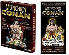 BUNDLE Munchkin Conan + Conan il Barbaro, Gioco di Carte, Nuovo, Italiano