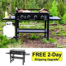 Stainless Steel Burner Large Portable BBQ Big Event Propane Gas Grill Commercial