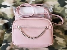 PRIVÉ by SORIAL SOFT PALE PINK LEATHER CROSSBODY PURSE Style # 16P13417 - NEW!