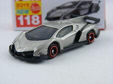 Lamborghini Veneno in graumetallic, Takara Tomy Tomica #118, 1/67