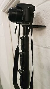 BROGE Teebar, lean your camera pole safely against the wall, even when extended
