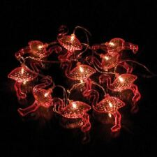 10 LED Flamingo String Lights Colour Changing Battery Powered Fairy Lights