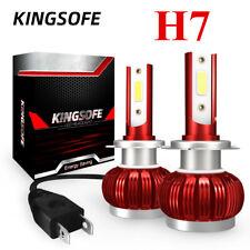 MINI H7 LED Headlight Bulbs Conversion Kit 2200W 480000LM 6000K Hi/Lo Beam Lamp*