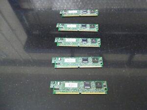 5 X Cisco PVDM2-32   32 Channel Packet/Voice DSP Module