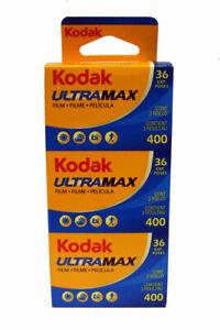 KODAK ULTRA MAX 400 36exp 3 PACK    07/2023