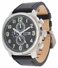 Ingersoll Herren Armbanduhr Bison No. 52 Limited Edition Schwarz IN1505BK