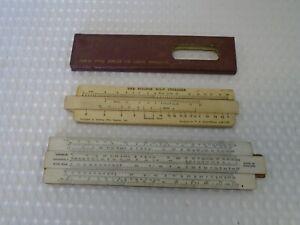 A Pair of Vintage Slide Rulers