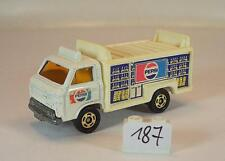 Tomy Tomica 1/68 Nr. 54 Nissan Caball Route Car Pepsi weiß #187