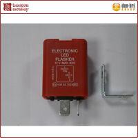 12V Electronic Motorcycle LED Indicator Flasher Unit Relay - Max 30W - 2 Pin