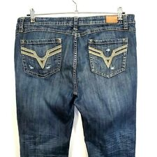 Vigoss Women's Jeans Skinny Fit Denim Stretch Distressed Plus Size 17