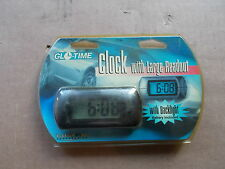 NEW Glo-Time Clock With Large Readout and Backlight   *FREE SHIPPING*