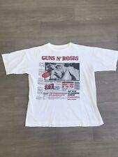 Vintage Guns N' Roses Lies Shirt RARE Single stitched Axl Rose Slash