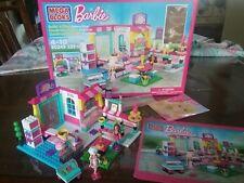 Barbie Mega Blocks 80249 Bakery Shop Build & Play complete RR $324.00