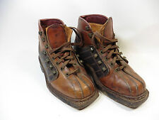 RICHARD PONVERT PARABOOT ANTIQUE LEATHER SHOES STITCHED NORWEGIAN GOOD YEAR 50