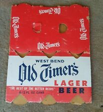 New ListingOld Timers Lager Walter's Brewing Co. Eau Claire 12 oz. flat top beer can holder