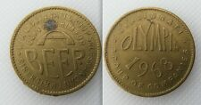 Collectable 1968 Olympia Token - Ask Him For Beer - Cincinnati Group