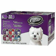 Cesar Canine Cuisine in Meaty Juices Variety Pack