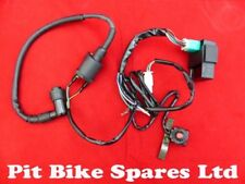 COMPLETE WIRING LOOM FOR KICK START ONLY PIT BIKE ENGINE