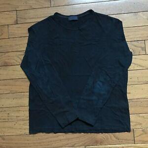 Yohji Yamamoto overdyed long sleeve t shirt