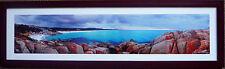 Ken Duncan Print Framed Signature TAS Australia Landscape Picture-bay of Fires