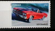 MNH OG  MUSCLE CARS ISSUE~ 1970 CHEVELLE  STAMP~    398cA4