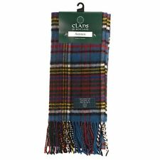 Scottish 100 % Lambswool Anderson Tartan Clan Scarf New