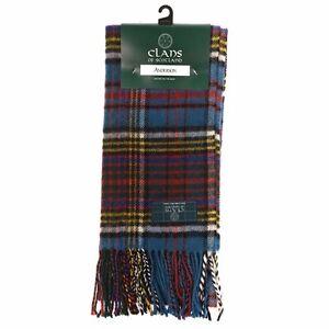 Scottish 100 % Lambswool Anderson Tartan Clan Scarf New