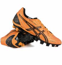 ASICS LETHAL STATS SK SOCCER FOOTBALL SIZE 8.5 ORANGE BLACK SHOES - BRAND NEW